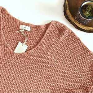 lucky brand v neck pullover knit sweater large
